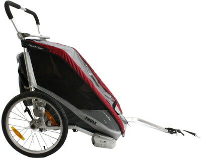 Thule Chariot Cougar 2 Red Child Bike Carrier