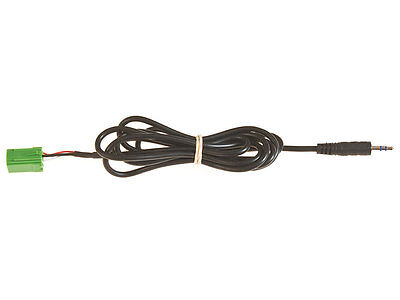 Renault Clio Megane Espace Trafic aux input lead 3.5mm jack in iPod MP3 adapter