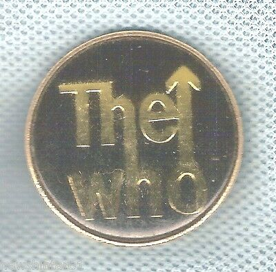 #d82. The Who Music Group Lapel Badge