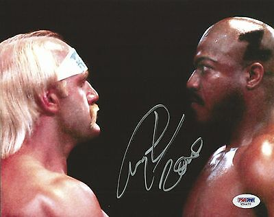 Tiny Lister Zeus Signed 8x10 Photo PSA/DNA COA WWE No Holds Barred Movie Picture
