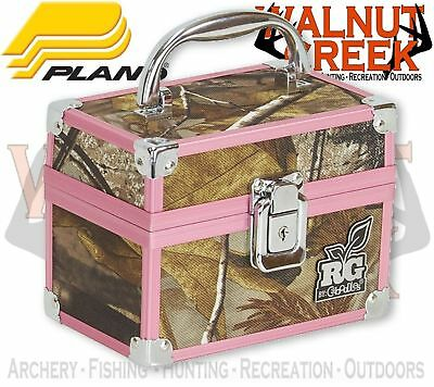 "Plano Realtree Girl Train Case Small 6"" x 3.75"" x 4"" H Realtree Camo 4502-20"