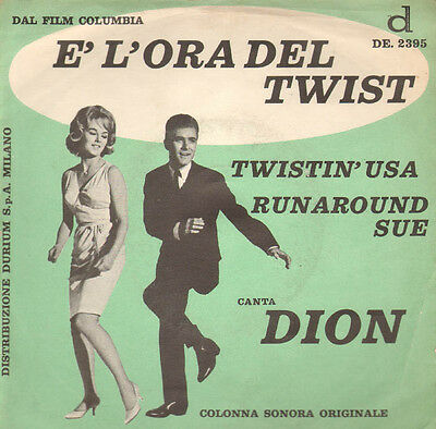 Dion  - Runaround sue/Twistin' USA