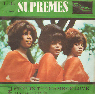 Supremes - Stop in the name of love/Baby love
