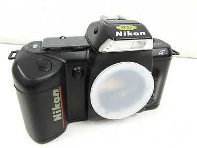 Nikon AF N4004 (F-401)  Black 35mm Film Camera SLR BODY (Parts/Repair)
