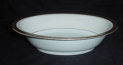 Noritake Fine China Goldkin Pattern Number 5675  Oval Serving Vegetable Bowl Ec