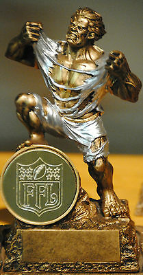 Monster Victory Fantasy Football Trophy -with Engraved Fantasy Football Logo