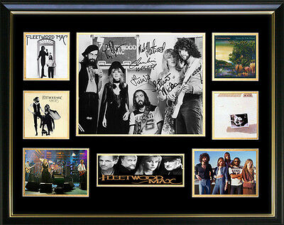 Fleetwood Mac Signed Framed Memorabilia