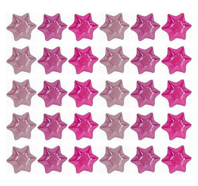 100 In Cadbury Chocolate Stars-Pink Mix-Christmas Baby Girl Shower Parties Gifts