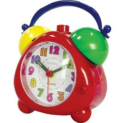 Kinder-Quarz-Wecker Technoline Geneva K -  Kinder-Uhr Kinderwecker Wecker Retro
