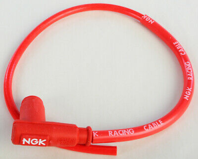 NGK CR2 Single Lead Motorcycle Wire 90 50cm Spark Plug Wire 8048 CR28048 14-1131