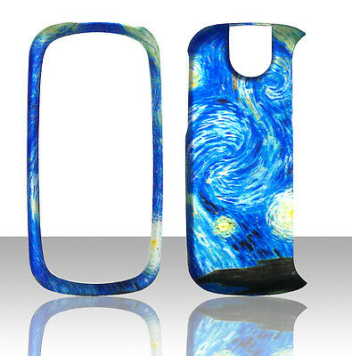 Blue Design Pantech Impact P7000 AT&T Case Cover Hard Phone Snap on Cases