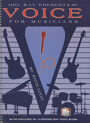 Voice for Musicians Vocal Instruction Book Learn to Sing