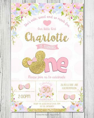 Peppa Pig Birthday Party Supplies Personalised Invitations Cards Invites Aust