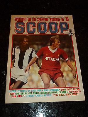 SCOOP Comic - No 102 - Date 29/12/1979 - UK Paper Comic - Inc Pull-Out