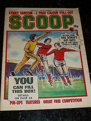 SCOOP Comic - No 146 - Date 01/11/1980 - UK Paper Comic - Inc Pull-Out