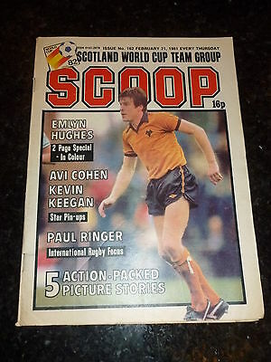 SCOOP Comic - No 162 - Date 21/02/1981 - UK Paper Comic - Inc Pull-Out