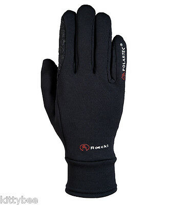 Roeckl ® POLARTECH Winter Riding Gloves! New - black or mocca!!
