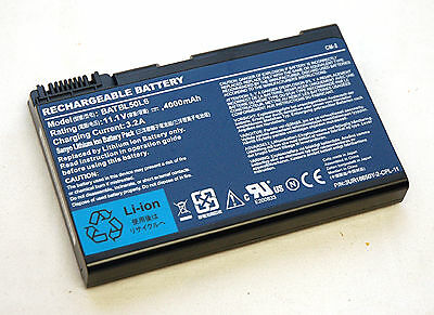 Acer Aspire 5100 Laptop 4Ahr BATTERY 3UR18650Y-2-CPL-11