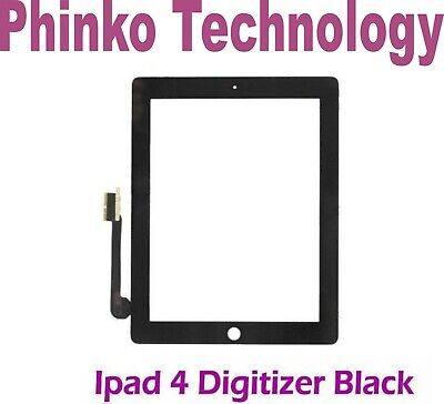 iPad 4 A1458 A1460 WIFI & 4G Digitizer Glass Touch Screen Replacement for Apple