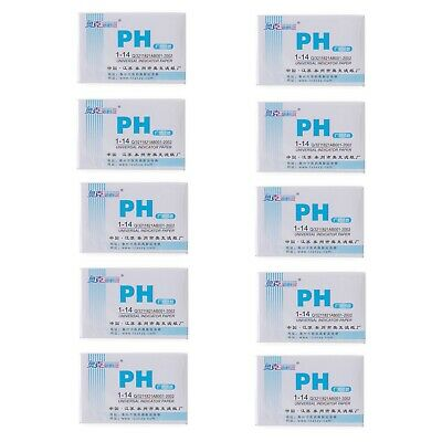 400 Strips,1-14,PH Indicator Test Paper,Chemistry Labware,5 Bags/Lot
