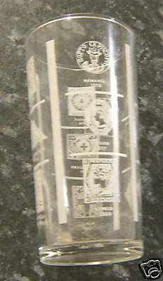 Sandwich Spread  Glass - Rare Postage Stamps