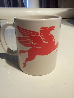 Mobil 1 Gas sign New Vintage COFFEE MUG - collectable mobil, phillips 66,
