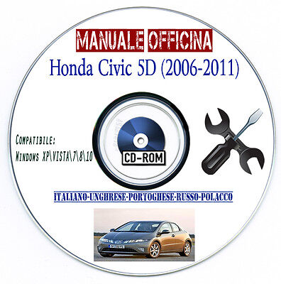 Manuale Officina Honda Civic 5D (2006-2011) N22A Workshop Manual Service Repair