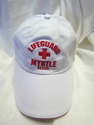 Myrtle Beach South Carolina SC LIFEGUARD Embroidered Vacation Cap Hat NEW NWT
