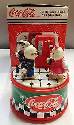 "Cariillon Coca Cola Con Musica "" Rock Around The Clock "" Nuovo Vintage"