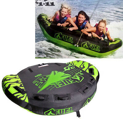 Fuel F1 - 11 (2-3 Person) Towable Tube Surf Ski Water Biscuit Inflatable