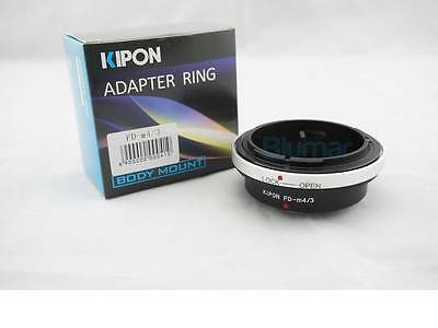 Kipon adapter for Canon FD mount lens to micro 4/3 M4/3 camera Pansonic G