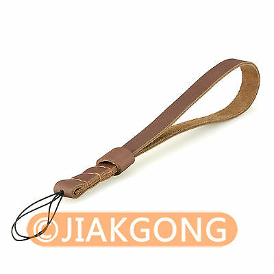 Split Leather Wrist/Hand Strap Grip for Compact & Mirrorless Camera