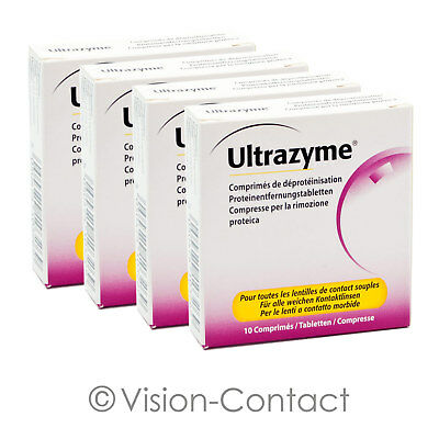 AMO - 4x Ultrazyme - 10 Tabletten