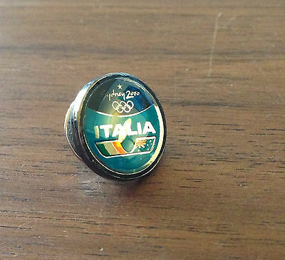 Italy Sydney 2000 National Olympic Committee (NOC) Pin