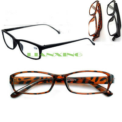 Hot Tortoiseshell Eyeglass Reading Glasses +1 +1.5 +2 +2.5 +3 Retro UV400