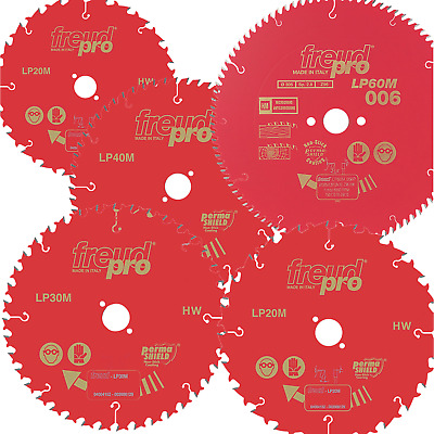 New Freud Pro Circular Saw Blade TCT Trim Rip Mitre Chop Cross Cut Wood Cutting