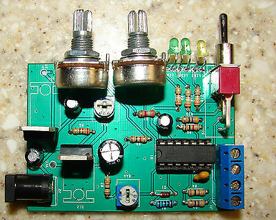 CNC Stepper Motor Step & Dir Pulse Generator & axis back and forth Exerciser