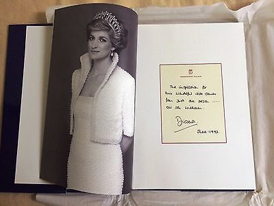 Princess Diana Book of Dresses Christie's Catalogue in Mint Condition Very Rare!