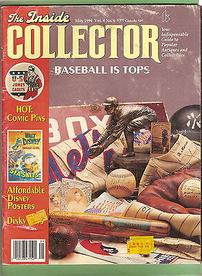 #t15.  1994 Collector Magazine With Baseball Article, Disney