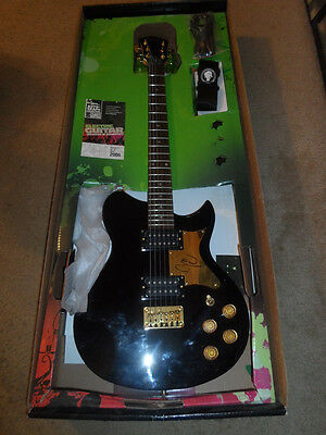 FALL OUT BOY authentic signed guitar by JOE TROHMAN  coa autograph