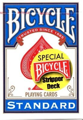 Stripper Bicycle Blue Deck Gaff Tapered Playing Cards Uspcc Control Magic Tricks