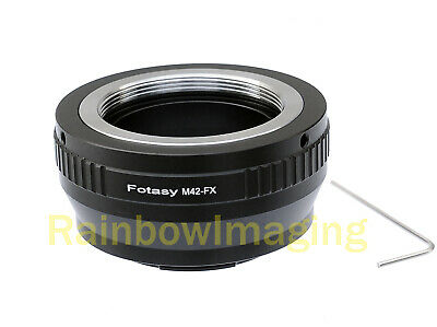 Adjustable M42 42mm Screw Mount Lens to Fujifilm X-Pro1 X-E1 X-E2 X-A1 Adapter