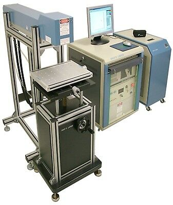 HANS Diode-Pumped YAG Laser Marking System BEAUTIFUL SYSTEM! HAN'S