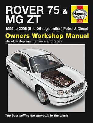 Rover 45 MG ZS Turbo Petrol Diesel 1999-2005 Haynes Manual 4384 NEW