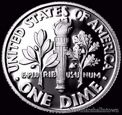 2014 S Roosevelt Dime ~ Mint Clad Proof U.S. Coin from Original Set