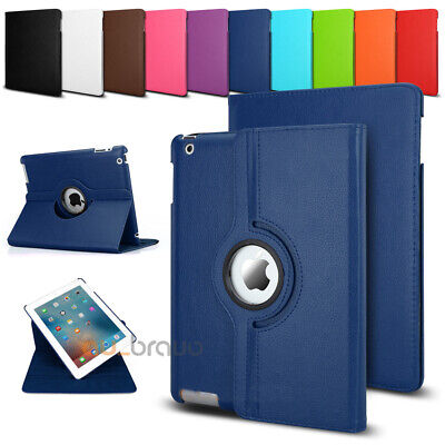 Smart 360 Rotate Leather Case Cover For Apple iPad 2 3 4 5 6 Air 1 2 Mini Pro