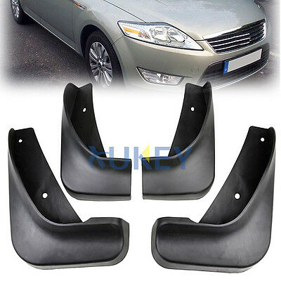 FIT FOR 2007 08 09 10 11 12 FORD MONDEO Mk4 MUD FLAP FLAPS SPLASH GUARD MUDGUARD