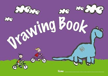 A4 Drawing Book Picture Practice Exercise Childrens Blank Pages School