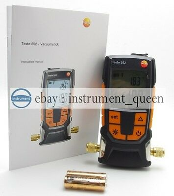 Testo 552 Digital Vacuum Gauge 0560 5520 !!New!!! Vacuum measuring instrument