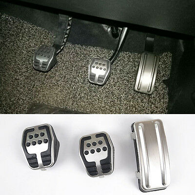 Fit For Ford Focus Mk2 05~11 M/t St Foot Pedal Cover Clutch Accelerator Pad Set